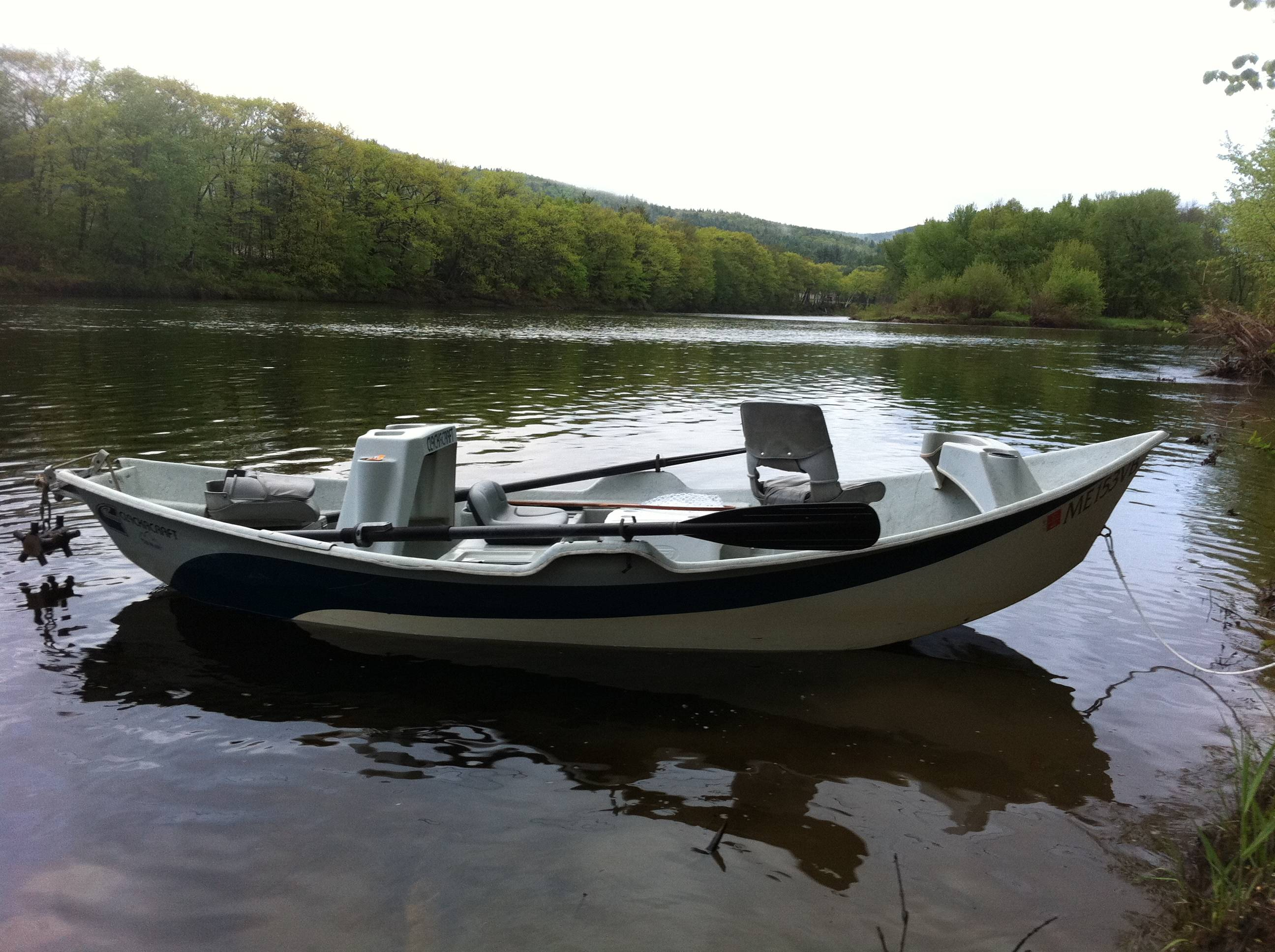 Western maine drifters specializing in drift boat fly for Pond fishing boats