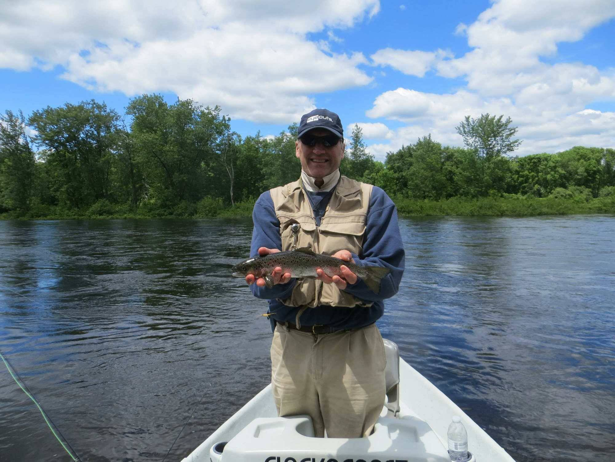 Our favorite rivers western maine drifters for Maine salmon fishing